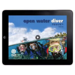 PADI Open Water tactile